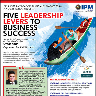 Five Leadership Levers to Business Success