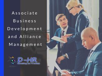 Associate Business Development and Alliance Management