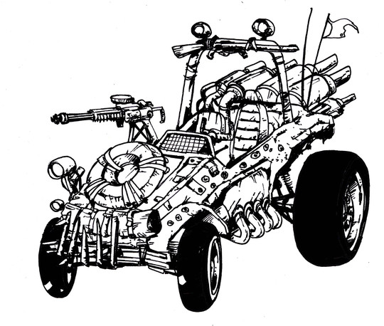 ANIMUTANTS (VEHICLES)