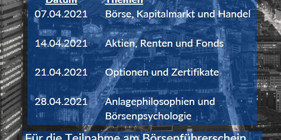 Börsenführerschein Live-Webinare des BVH