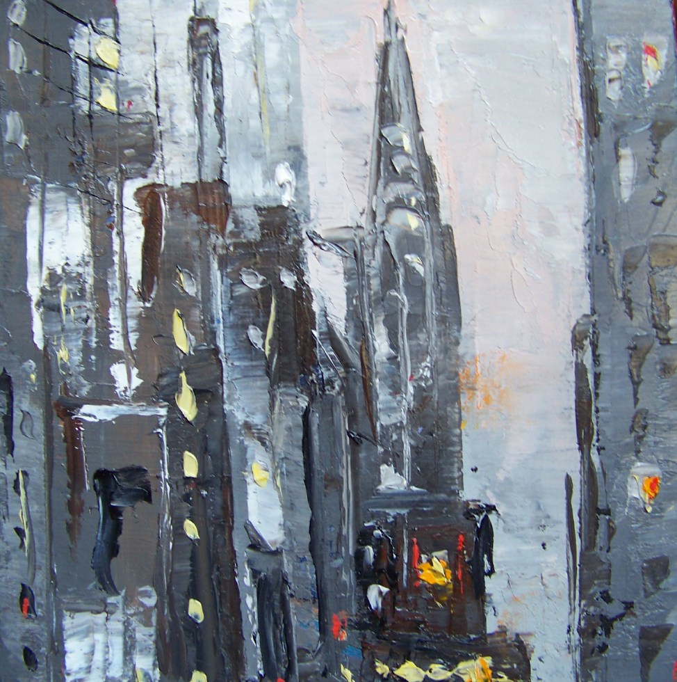 city11, 6x6, oil, sold