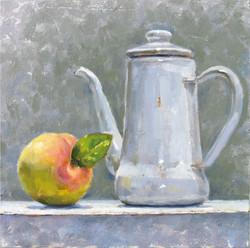 """Peach and Pot"""