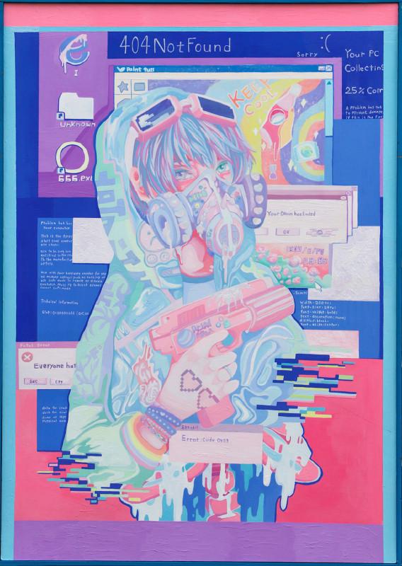 第16回 世界絵画大賞展 【入選】