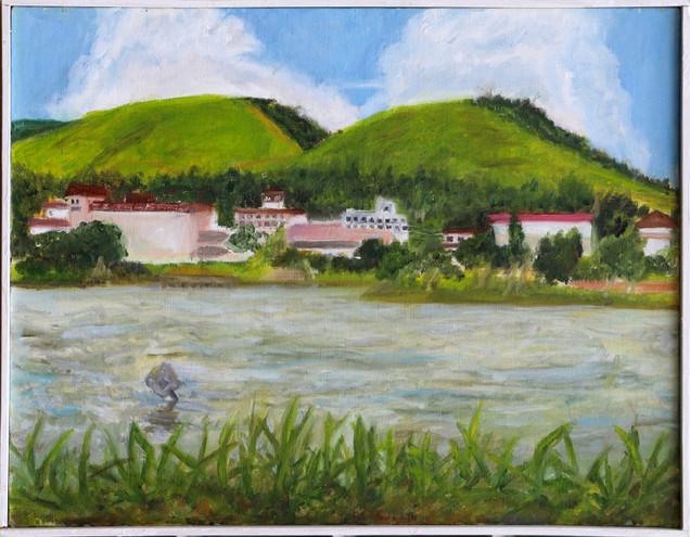 41. 角田 輝 「白樺湖」