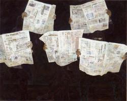 13_Newspaper_2007_230cm×186cm