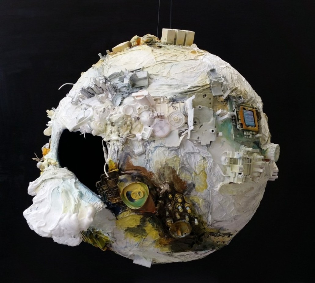 ann phong, human traces on earth mixed, 20x20x20, 2015