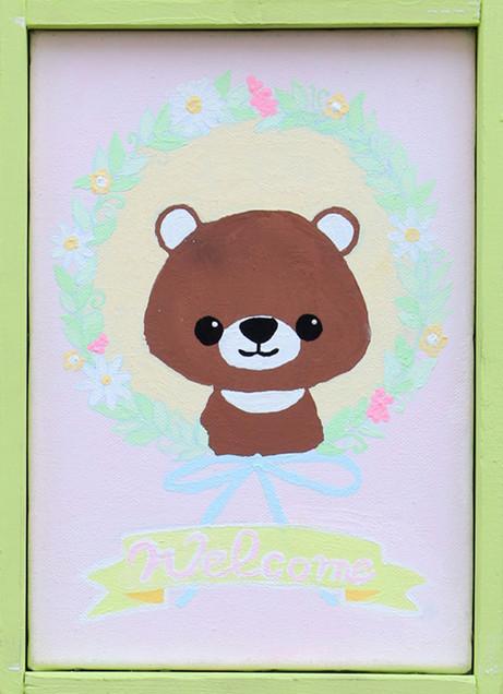 32. 宇田川要  「welcome board」