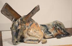 6. peggy Sivert,__Broken__, 2014 36__x50 x 48__, ceramic sm