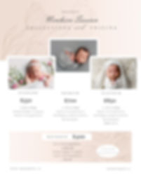 comox valley newborn photographer  prici