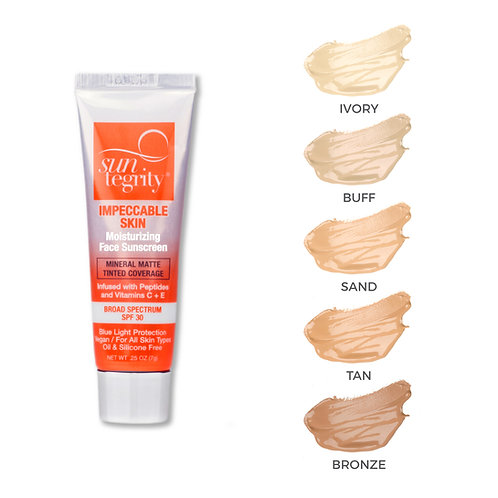 SunTegrity Impeccable Skin Face Sunscreen Tinted