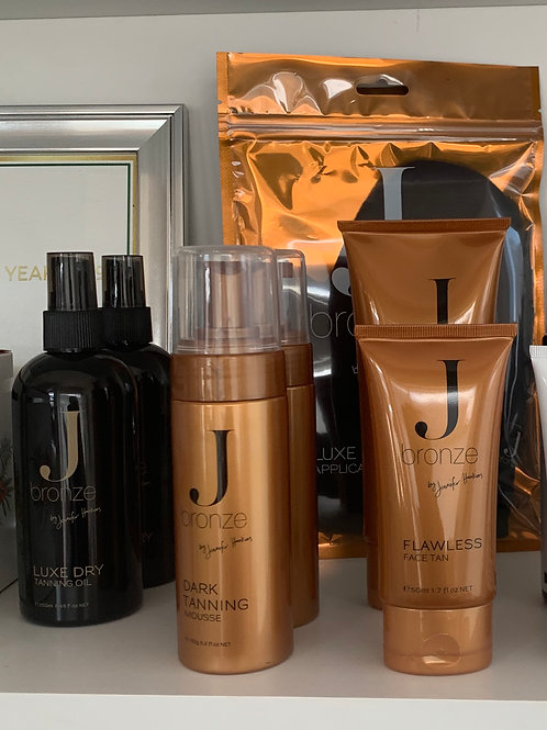 J Bronze Tan Range