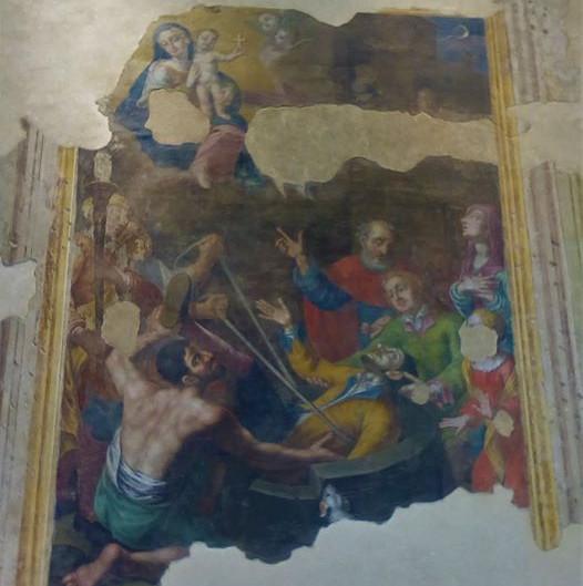 i muri raccontano... santa maria del pozzo