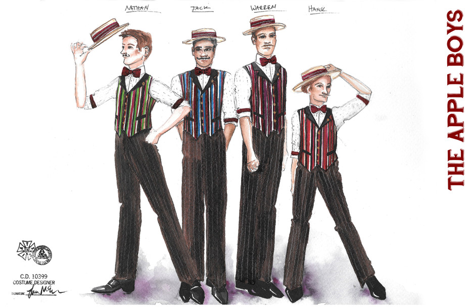 The Apple Boys- Main Outfit