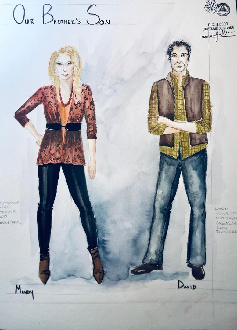 Mindy & David