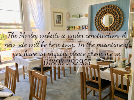 Morley Monday 13.01.2020 - Website refurbishment