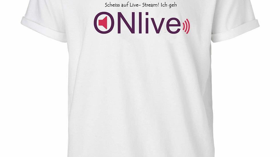 ONlive Shirt weiss