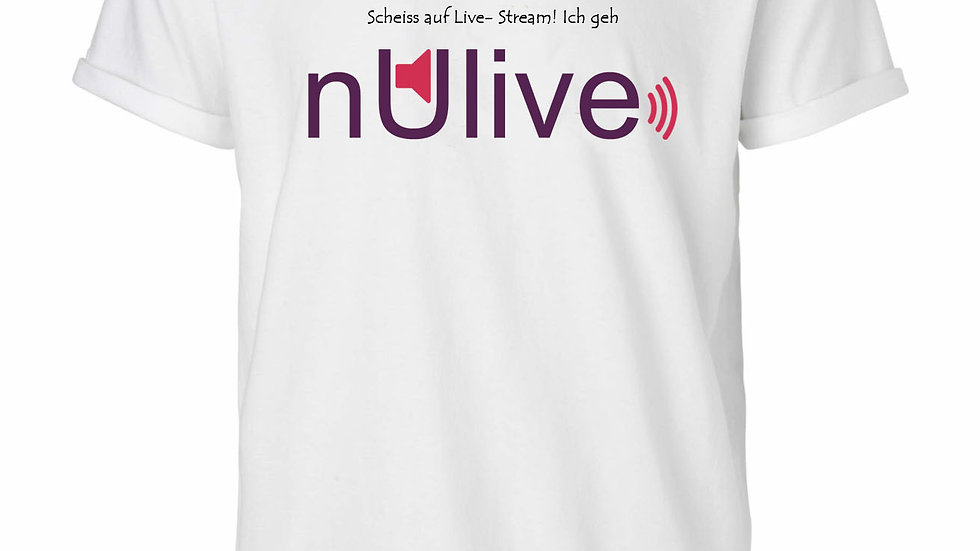 nUlive Shirt weiss