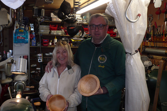 Busy couple of weeks of woodturning lessons!