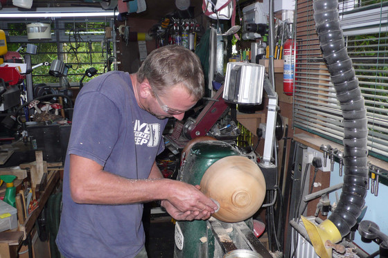 From Tree Surgeon to Woodturner!