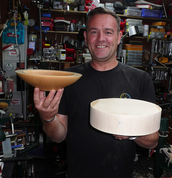 If you're looking to have a go at wood turning I cannot recommend Andy highly enough.