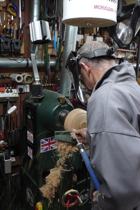 I enjoyed the day's woodturning with you very much, thanks.  Once I've had some practice, I will def