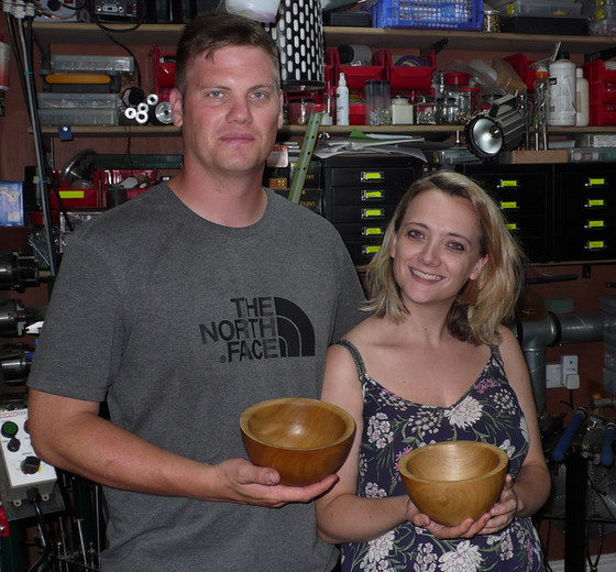 """I booked onto a day course with my partner as we were both intrigued by woodturning, but compl"