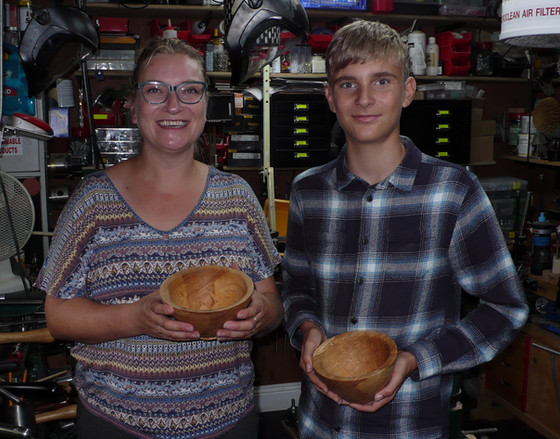 My son is now about to embark on the Duke of Edinburgh Award and he wants Woodturning to be his skil