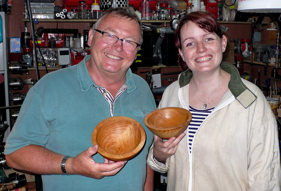 """""""I would recommend this course for anyone thinking of getting into Woodturning or someone just"""