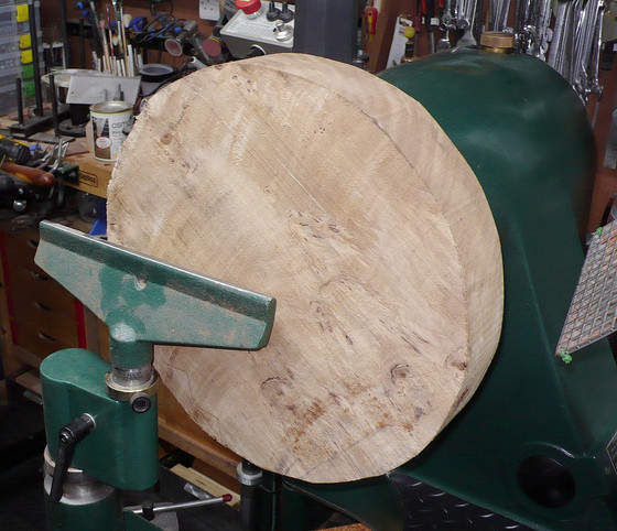 Burr Poplar Platter
