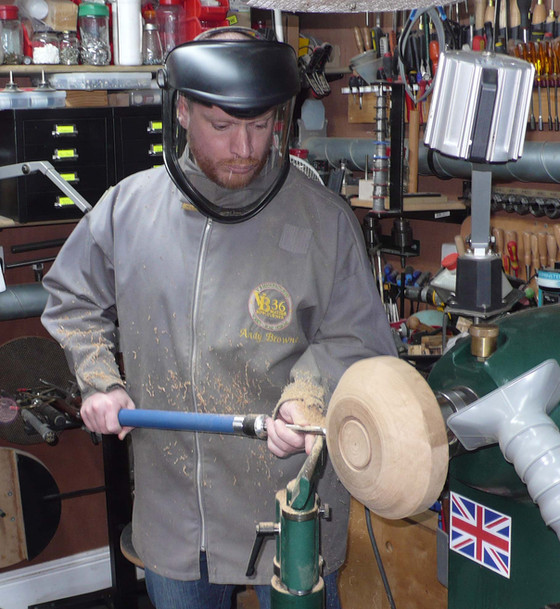 This was great fun! Andy's really friendly and helpful and I left wanting to buy a lathe and get