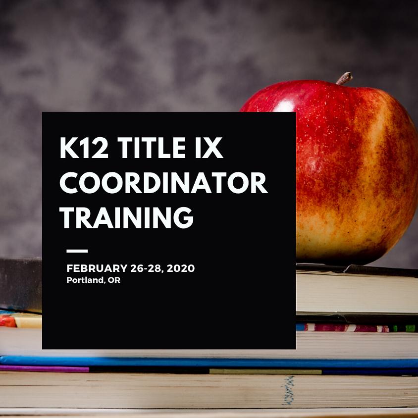 K12 Title IX Coordinator Training