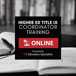 Higher Ed Coordinator Training square.pn