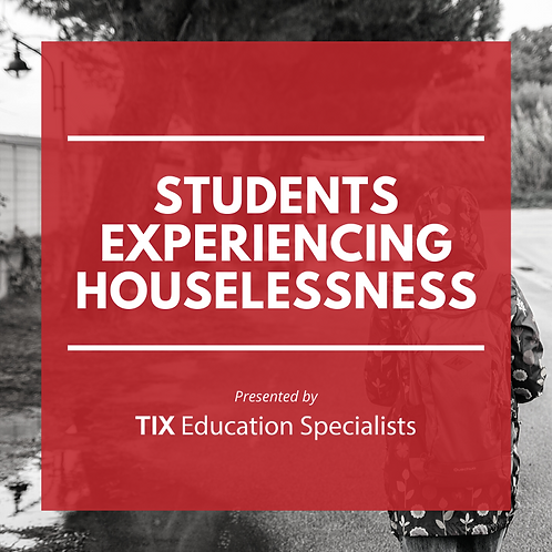 Students Experiencing Houselessness