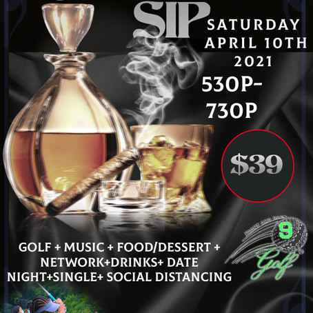 Front & Back 9 Presents, Swing & Sip