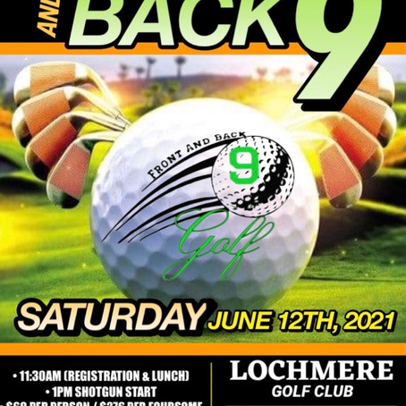 3rd Annual Front & Back 9 Golf Classic