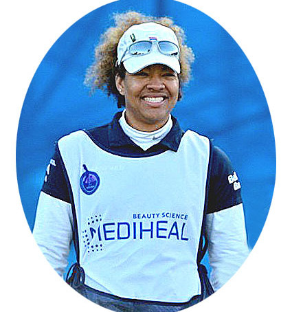 Taneka Sandiford, First Bahamian LPGA Tour Caddie Counts her blessings, hole by hole