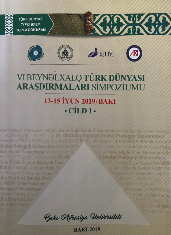 VI. Uluslararası Türk Dünyası Araştırmaları Sempozyumu