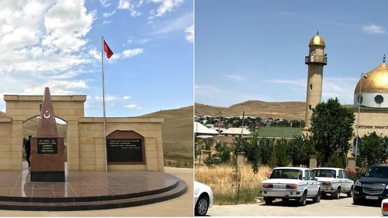 Azerbaycan'ın cami ve şehitlikleri