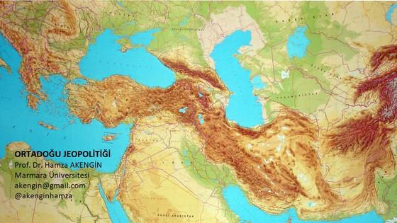 SİYASİ COĞRAFYA, JEOPOLİTİK VE ORTADOĞU JEOPOLİTİĞİ