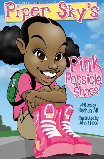 """Piper Sky's Pink Popsicle Shoes"""