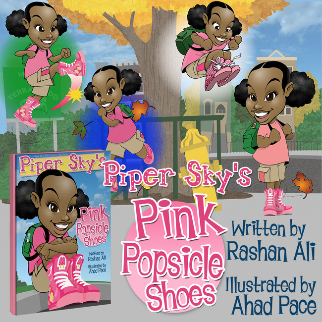 """""""Piper Sky's Pink Popsicle Shoes"""""""