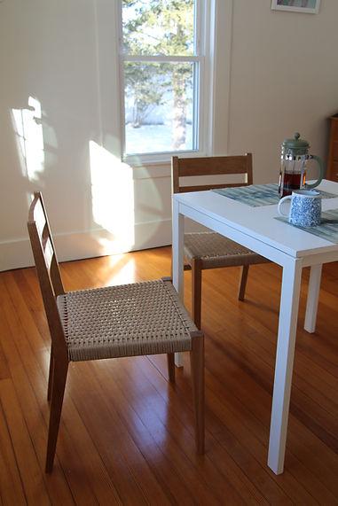 Coffee House Chair - Cherry, Danish Cord