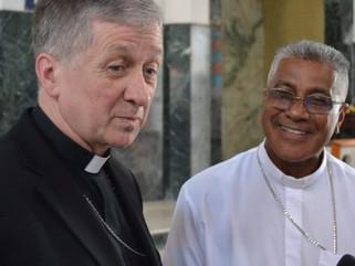 Cardenal Cupich recorre Diócesis de Caguas y Fajardo-Humacao