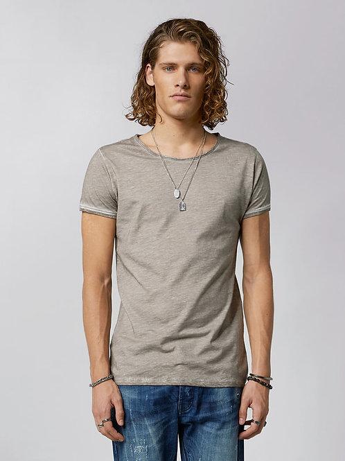 T-Shirt - dark sand
