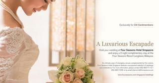 Blissful Brides Ad Spread