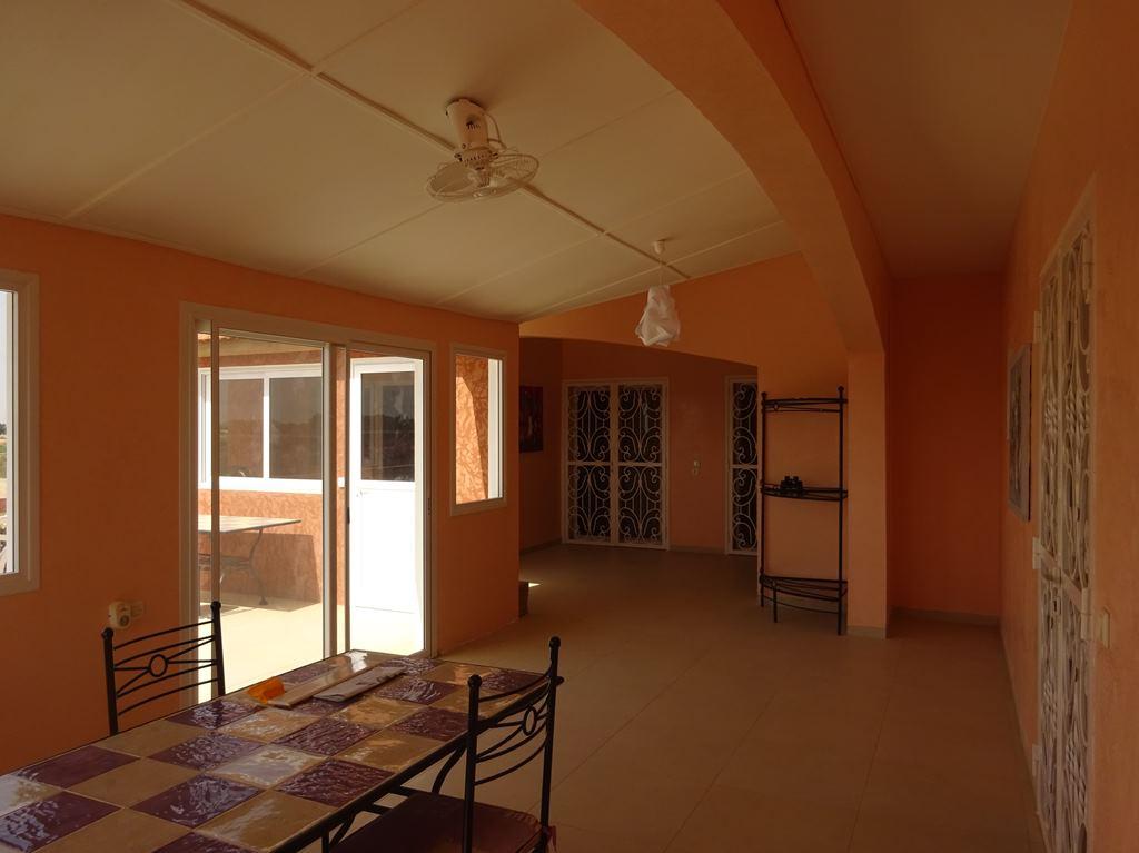 Salon étage villa