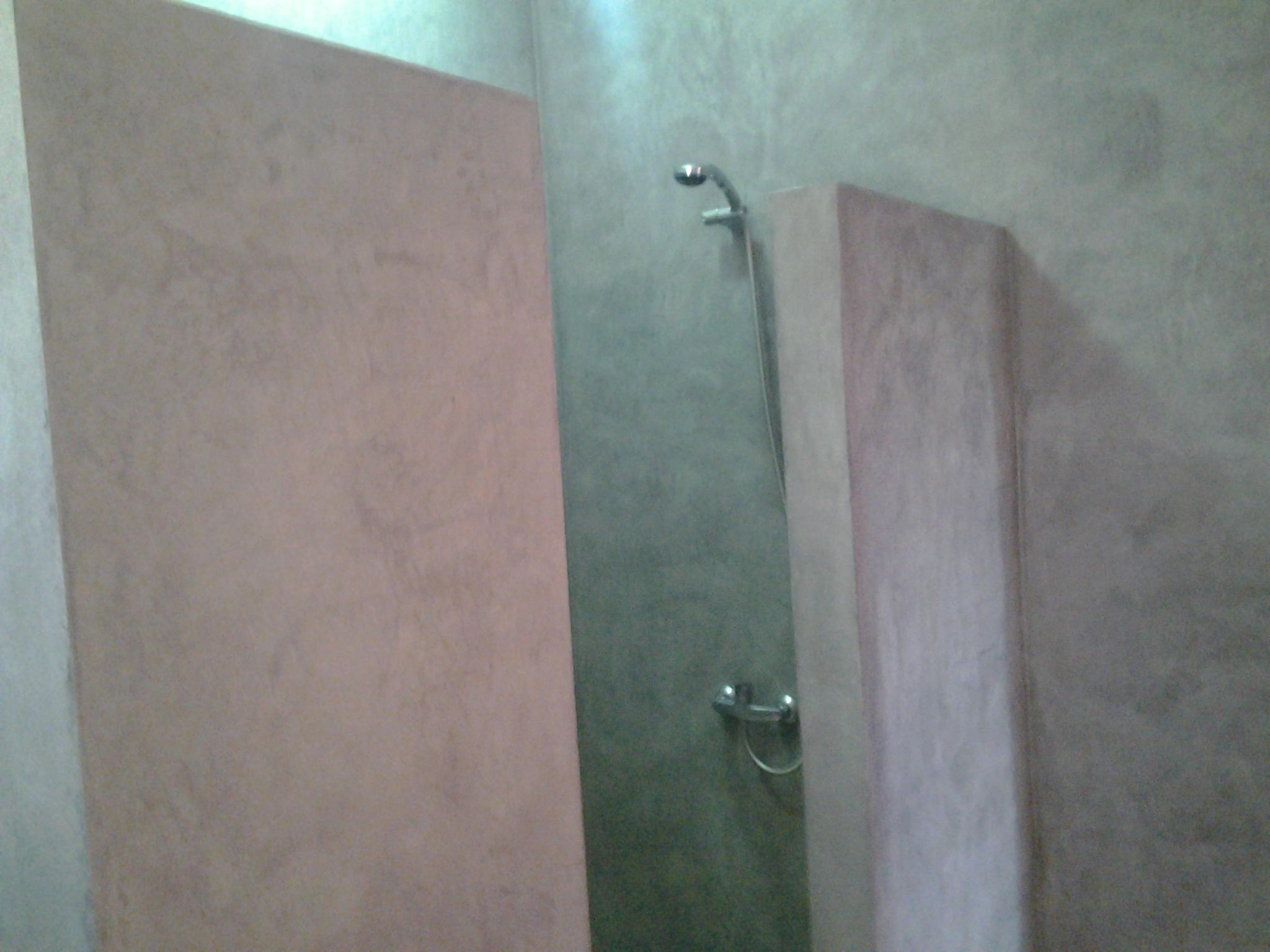 Douche chambre étage