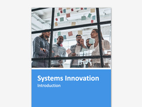 Systems Innovation