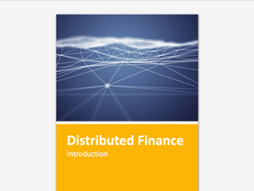Distributed Finance