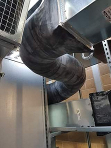Ducting with a PIB finish